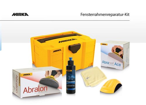Mirka Aktion Fensterrahmenreparatur - Kit - Set