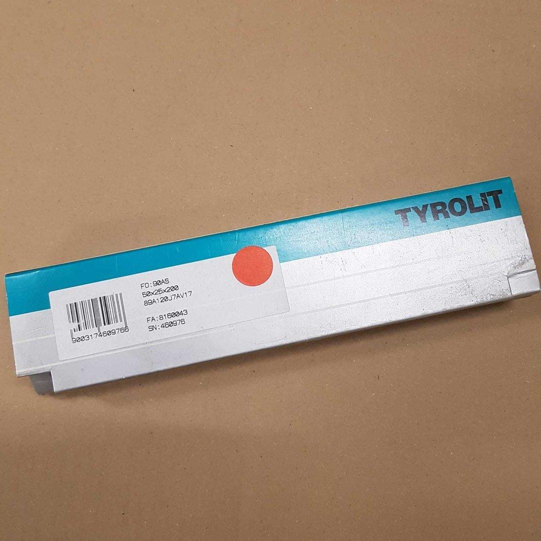 Tyrolit 460976 Abrichtstein 90AS 50x25x200 89A120J7AV17